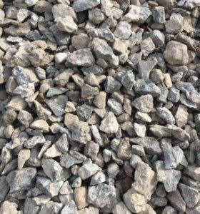 Вторичный бетон (рецикл)(щебень)