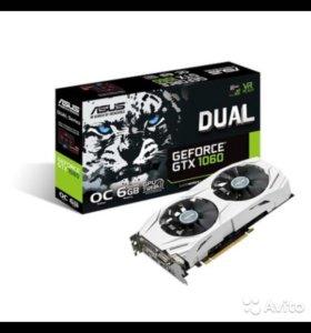 Asus dual gtx 1060 O6G 6GB OC gtx1060