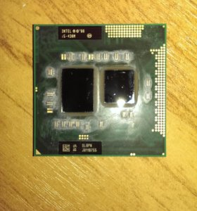 Процессор для ноутбука Intel core i5 430m