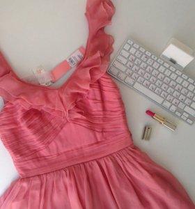 Платье шелковое lipsy