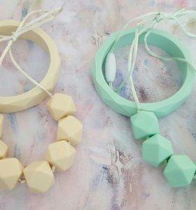 Набор: слингобусы и силиконовый браслет