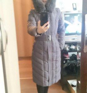 Пуховик-пальто р.42
