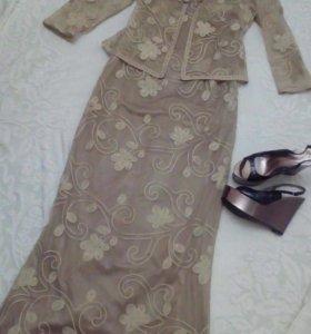 2ка платье и пиджак