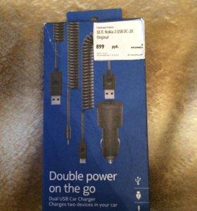 Зарядное устройство в машину Nokia