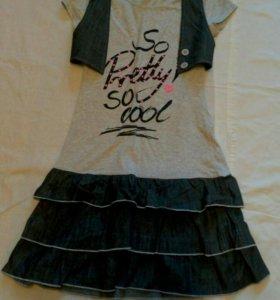 Платье. 11-13 лет