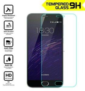 Защитное стекло для Meizu M2 mini