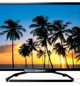 "Smart Tv 32"" Horizont 32LE7181D Черный Новый"