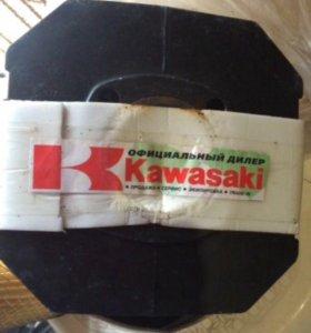 Запчасти на мопед kawasaki