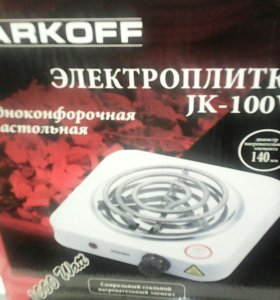 Эл.плитка Jarkoff JK-100W