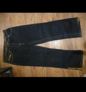 Бриджи джинсовые М