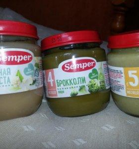 Овощное пюре Semper