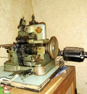 Швейная машинка и оверлок