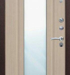 Входная металическая дверь Царское зеркало.Белёный