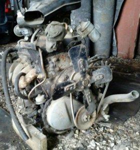 Двигатель москвич