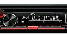 Автомагнитола JVC KD-R671E 1DIN 4x50W