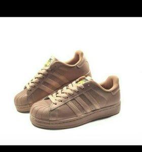 Кроссовки Adidas Superstar brounze