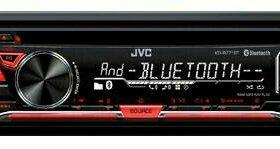 Автомагнитола JVC KD-R771BTE 1DIN 4x50W