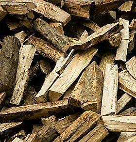 дрова колотые чурка