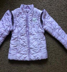 Куртка для девочки 7 лет(122) Chicco
