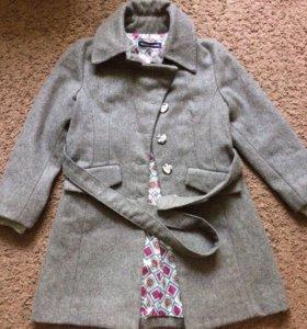 Пальто для девочки 9 лет Original Marines