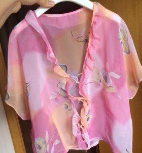 Новая шифоновая блуза