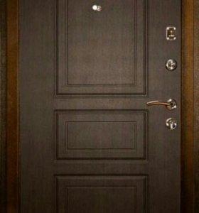 Входная дверь СИТИ 2 ЛАЙТ Венге