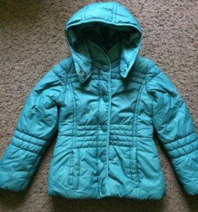 Куртка для девочки 7 лет(122) Oviesse