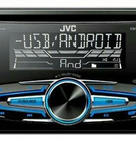 Автомагнитола JVC KW-520 2DIN 4x50W
