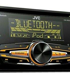 Автомагнитола JVC KW-R920BT 2DIN 4x50W
