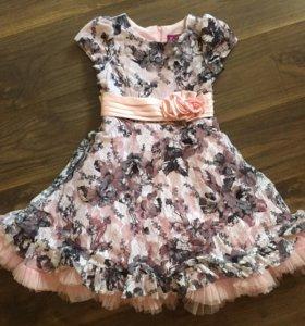 Платье праздничное 128-130