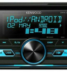 Автомагнитола KENWOOD DPX-3000U 2DIN 4x50W