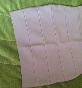 Бандажная мини юбка