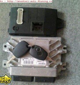 Комплект эбу иммобилайзер чип