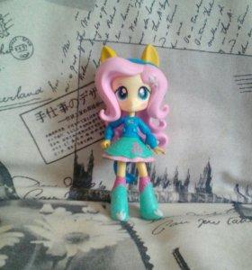 Мини кукла Флаттершай