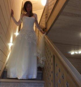 Свадебное платье ТOPAZA PELLA премиум качество