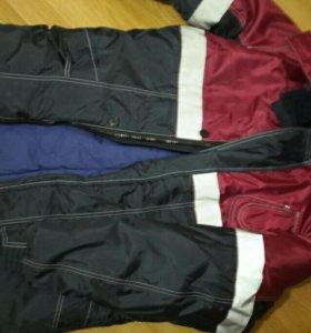 Куртка +полукомбинезон