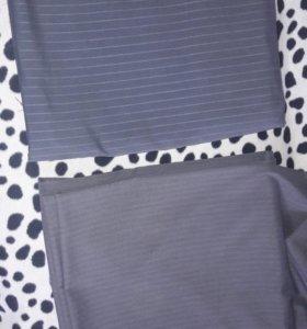ткань костюмная в полоску