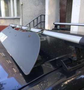 Багажник и флейринг на Мазда 3