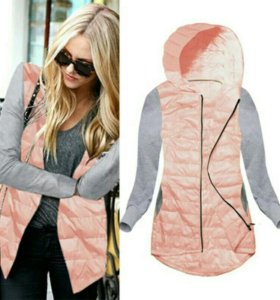 Легкая кофта-куртка
