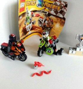 Лего (набор мотоциклистов, раритет)