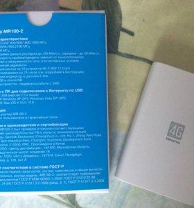 4G-роутер Yota many (Мегафон MR100-2)