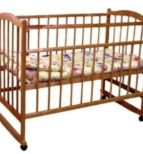 Кроватка детская Фея +матрас кокос