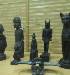 Статуэтки из Африки, Египта