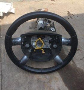 Кожаный руль мондео 3