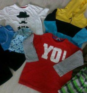 Пакет одежды на мальчика 98-104