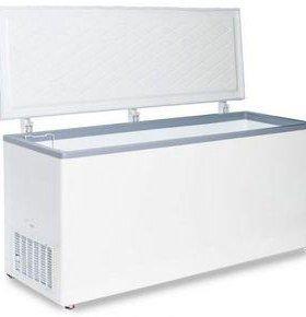 Морозильный ларь с глухой крышкой МЛК 600