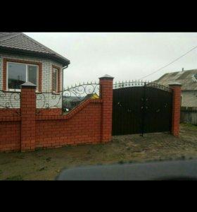 Ворота двери ограждения