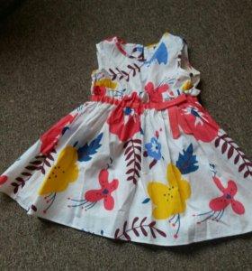 Платье рост 86