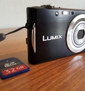 Фотоаппарат Panasonic Lumix DMC-FS18 Black/Noir