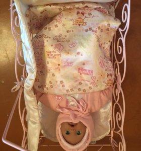 Кроватка кукольная Anabel